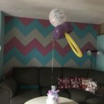 balloon with diper cake 1